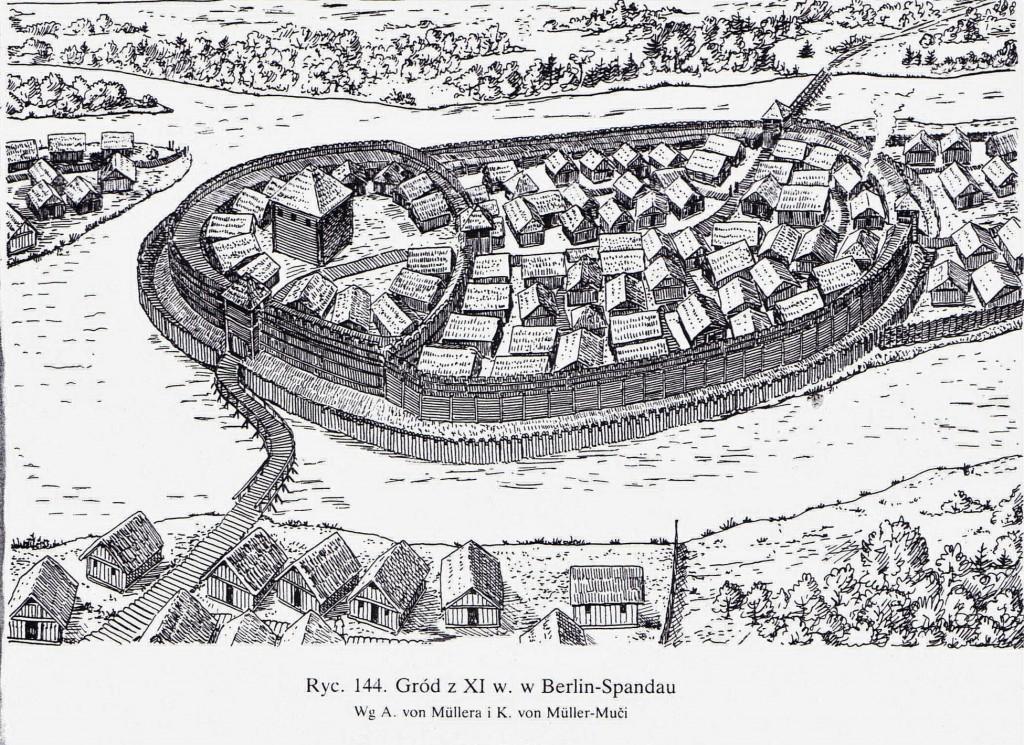 gród, XI wiek, osada, słowianie