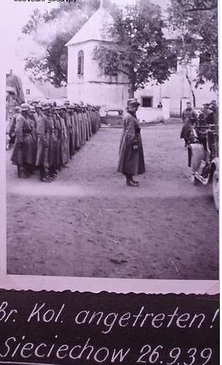 Znalezione obrazy dla zapytania: Sieciechów żołnierze niemieccy
