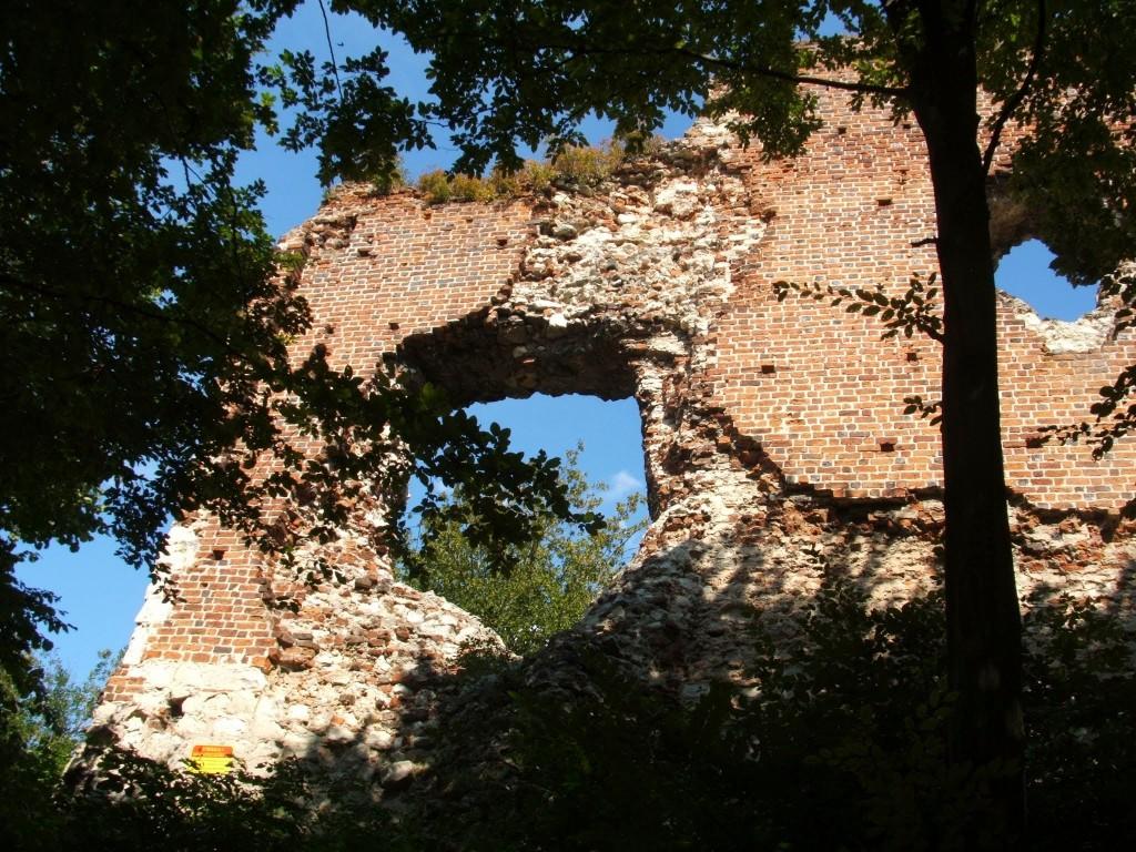 Ruiny zamku w Bochotnicy fot. K. Siek