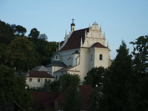 Kościół farny - Kazimierz Dolny fot. K. Siek