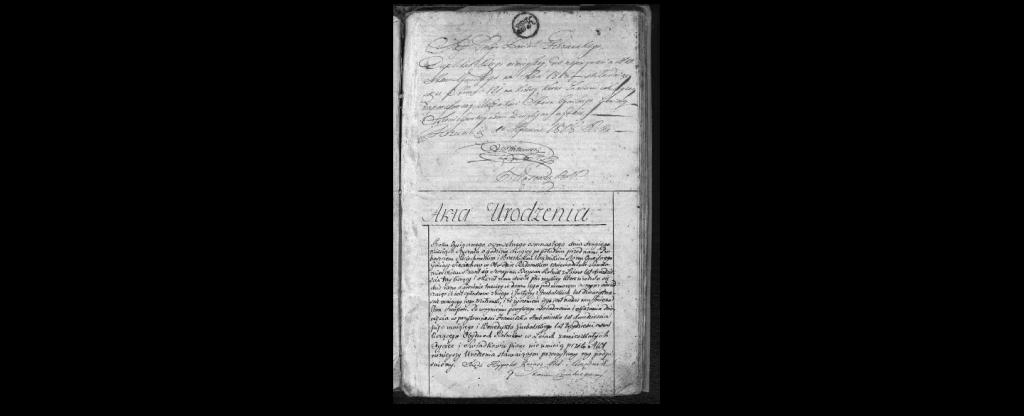 akta urodzin 1818